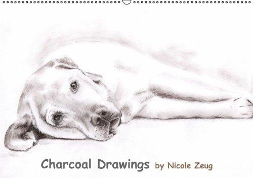 9783660640359: Charcoal Drawings Wandkalender 2015 Di