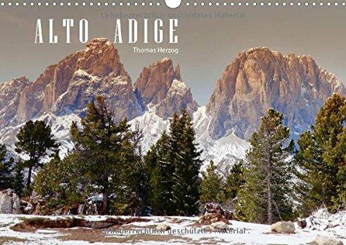 9783660644890: Alto Adige Wandkalender 2015 Din A3 Qu