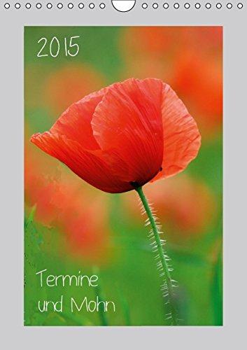 9783660649819: 2015 Termine Und Mohn Wandkalender 201