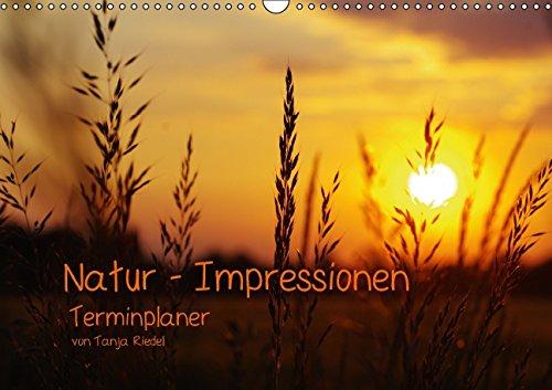 9783660663600: Natur - Impressionen Terminkalender von Tanja Riedel - Author: Riedel Tanja