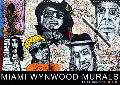 9783660684018: Miami Wynwood Murals Featuring 2squ