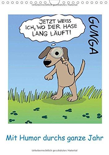 9783660686173: Mit Humor Durchs Ganze Jahr Wandkalend