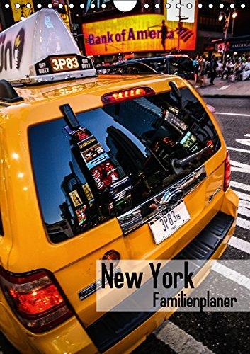 9783660708059: New York Familienplaner Wandkalender 2