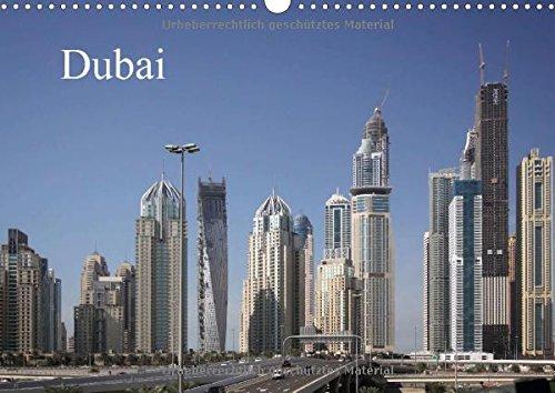 9783660753059: Dubai Wandkalender 2015 Din A3 Quer