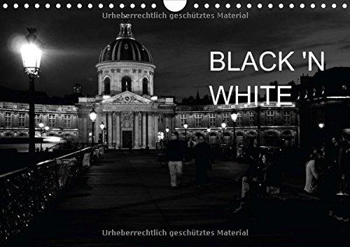 9783660753103: Black N White Wandkalender 2015 Din a