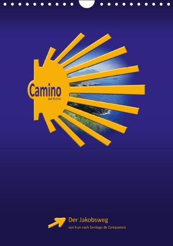 9783660765663: Camino Del Norte Wandkalender 2015 Din