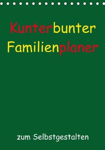 9783660768367: Kunterbunter Familienplaner Tischkalen