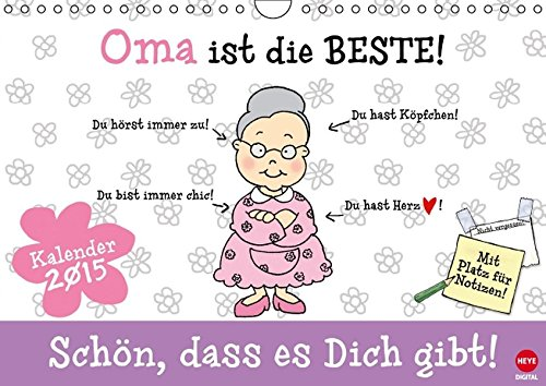 9783660795233: Oma Ist Die Beste Wandkalender 2015 Di