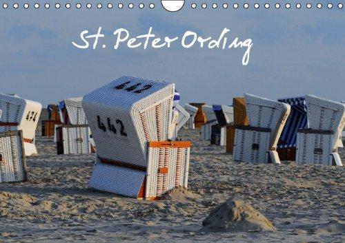 9783660807509: St. Peter Ording Wandkalender 2015 Din