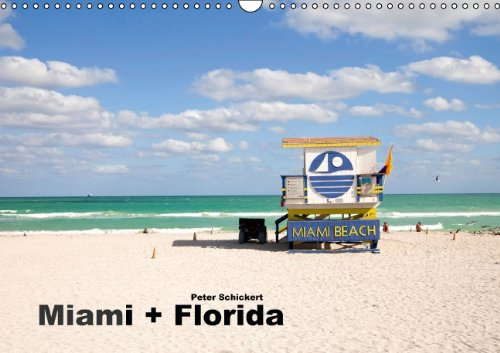 9783660834680: Miami Florida Wandkalender 2015 Din
