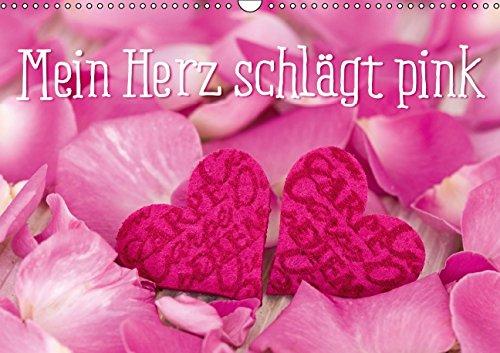 9783660845631: Mein Herz Schlã¤gt Pink Wandkalender 2