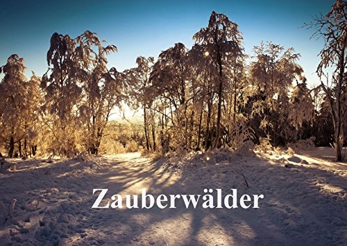 9783660846294: Zauberwälder (Posterbuch DIN A3 quer): Zauberwälder - Flüstern der Natur (Posterbuch, 14 Seiten)