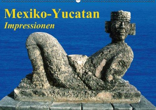 9783660848175: Mexiko-Yucatan . Impressionen (Wandkalender 2015 DIN A2 quer): Die Halbinsel Yucatan im Bundesstaat Q. Roo erleben (Monatskalender, 14 Seiten)