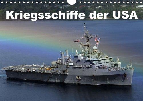 9783660848878: Kriegsschiffe Der USA Wandkalender 201