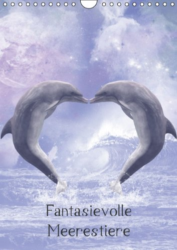 9783660860054: Fantasievolle Meerestiere Wandkalender