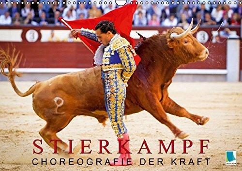 9783660874860: Stierkampf: Choreografie der Kraft (Wandkalender 2015 DIN A3 quer): Toreros in der Arena (Monatskalender, 14 Seiten)