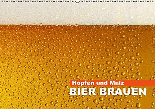 9783660890594: Hopfen und Malz - Bier brauen (Wandkalender 2015 DIN A2 quer): Flüssig Brot (Monatskalender, 14 Seiten)