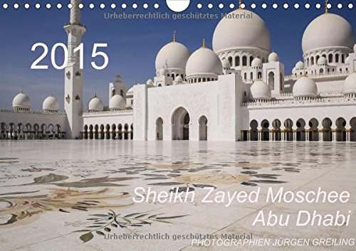 9783660902402: Sheikh Zayed Moschee in Abu Dhabi Wall