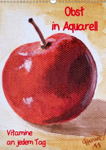 9783660919196: Obst in Aquarell Vitamine An Jedem Tag