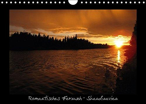 9783660940985: Romantisches Fernweh - Skandinavien (Wandkalender immerwährend DIN A4 quer): Stimmungsvolle Aufnahmen skandinavischer Impressionen, die zum Träumen einladen (Monatskalender, 14 Seiten )