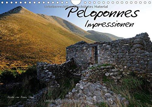 9783660943368: Peloponnes Impressionen 2015 Wandkal