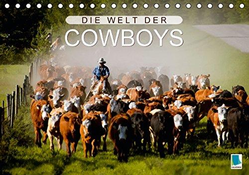 9783660958249: Die Welt Der Cowboys Tischkalender 201
