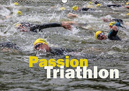 9783660961638: Passion Triathlon Wandkalender 2015 Di