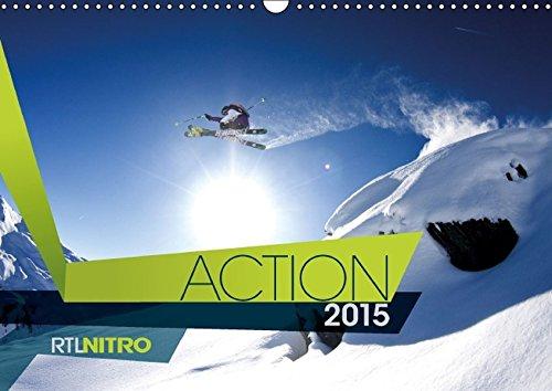 9783660964097: RTL NITRO Kalender 2015 - Wandkalender 2015