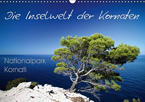 9783660966305: Die Inselwelt Der Kornaten Wandkalende