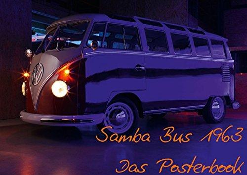 9783660969894: Samba Bus 1963 (Posterbuch DIN A4 quer): Der Kult Bus von VW! (Posterbuch, 14 Seiten)