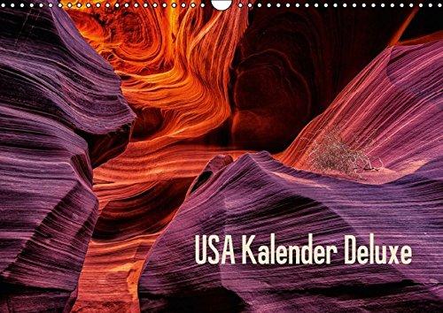9783660970951: USA Kalender Deluxe Wandkalender 2015