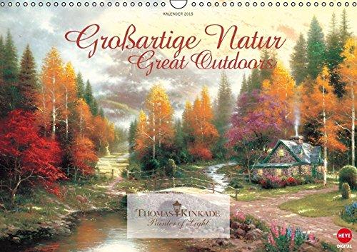 9783660971972: Thomas Kinkade Groãÿartige Natur Wand