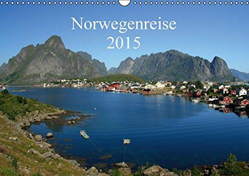 9783660972177: Norwegenreise 2015 Wandkalender 2015 D