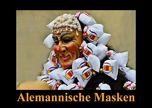 9783660973006: Alemannische Masken (Posterbuch DIN A2 quer): Gefürchtet und geliebt (Posterbuch, 14 Seiten)