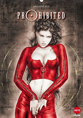9783660975055: Luis Royo Prohibited Book Wandkalend