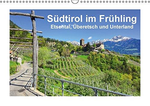 9783660975888: Südtirol im Frühling. Etschtal, Überetsch und Unterland. (Wandkalender immerwährend DIN A3 quer): Frisches Grün, blühende Apfelbäume, schneebedeckte ... Schönheit. (Monatskalender, 14 Seiten)