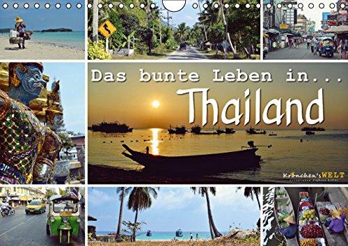 9783660980394: Das Bunte Leben in Thailand Wandkalend