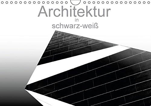 9783660982268: Architektur in Schwarzweiãÿ Wandkalend