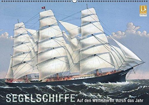 9783660984002: Segelschiffe Der Meere Wandkalender 20