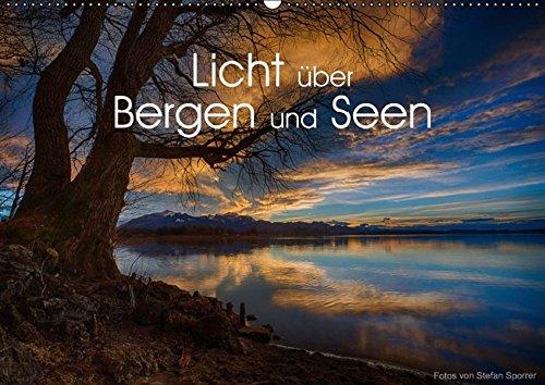 9783660985405: Licht � Ber Bergen Und Seen Wandkalend