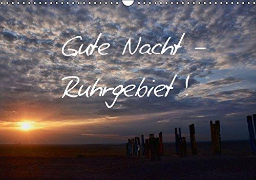9783660995428: Gute Nacht Ruhrgebiet Wandkalender