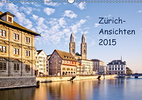 9783660996685: Z� Rich Ansichten 2015ch Version Wand