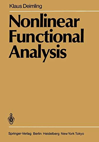 9783662005491: Nonlinear Functional Analysis