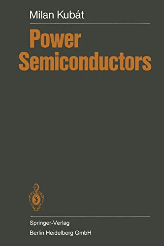 9783662024201: Power Semiconductors