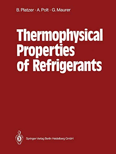 Stock image for Thermophysical Properties of Refrigerants for sale by Paperbackshop-US