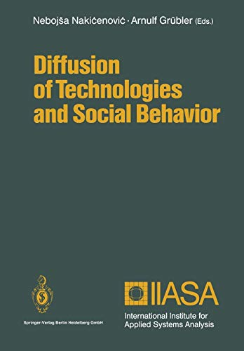 Diffusion of Technologies and Social Behavior: Springer