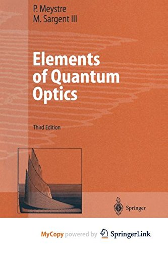 9783662038789: Elements of Quantum Optics