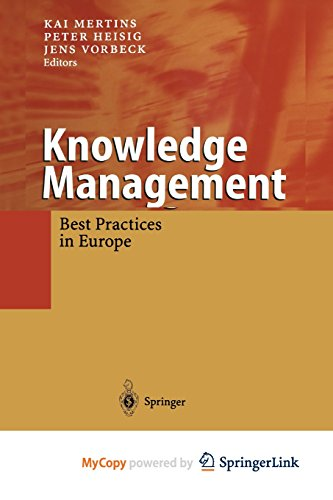 9783662044674: Knowledge Management: Concepts and Best Practices