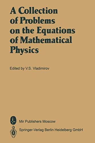 9783662055601: A Collection of Problems on the Equations of Mathematical Physics