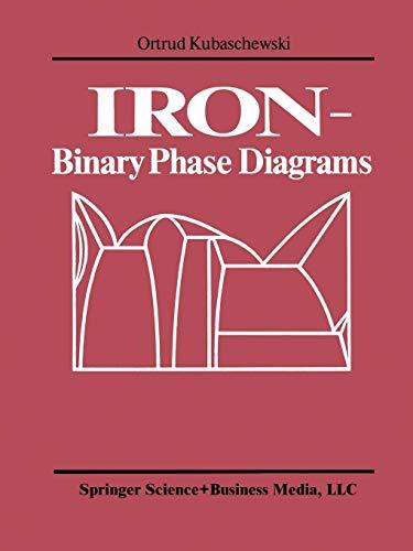 9783662080269: IRON―Binary Phase Diagrams